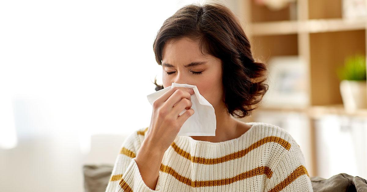 Boom di allergie durante il Coronavirus