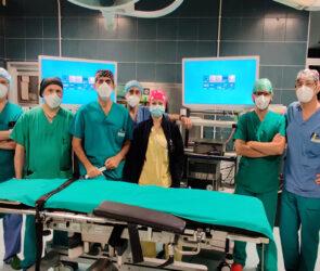 Nuova colonna laparoscopica al Maria Vittoria di Torino